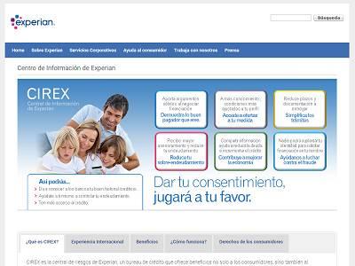 CIREX - fichero de información positiva