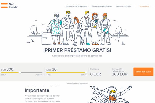 Netcredit préstamos sitio web