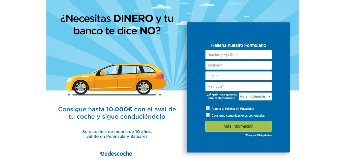 Gedescoche sitio web